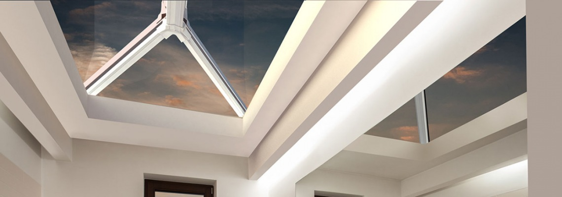 Thermally broken roof lanterns