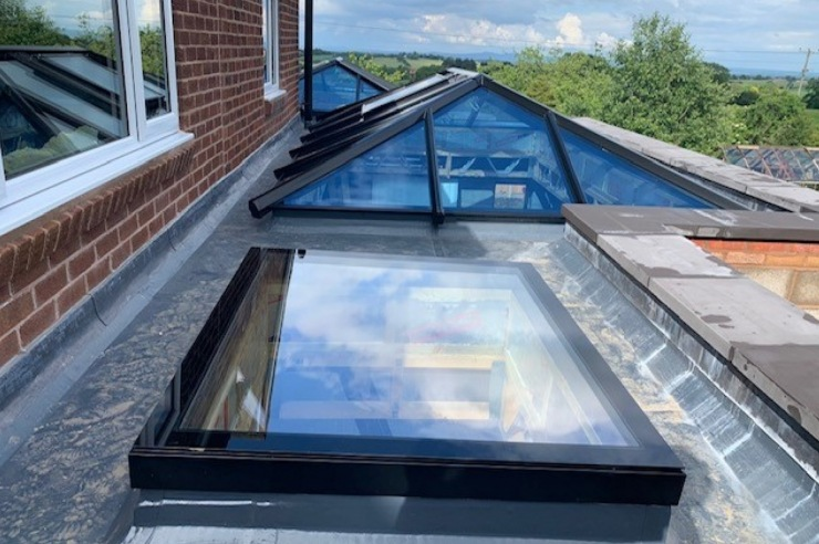 Bespoke Skylights for your Flat Roof Extension
