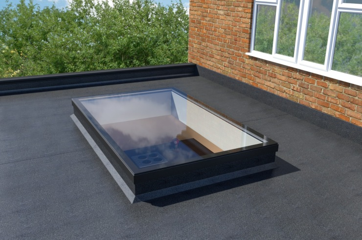 Transforming Flat Roofs with Skylights