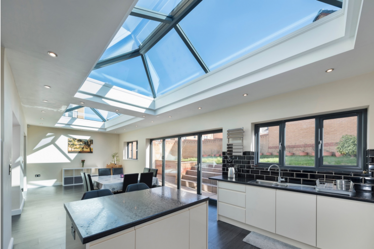 Add daylight into your room with Lantern Roofs