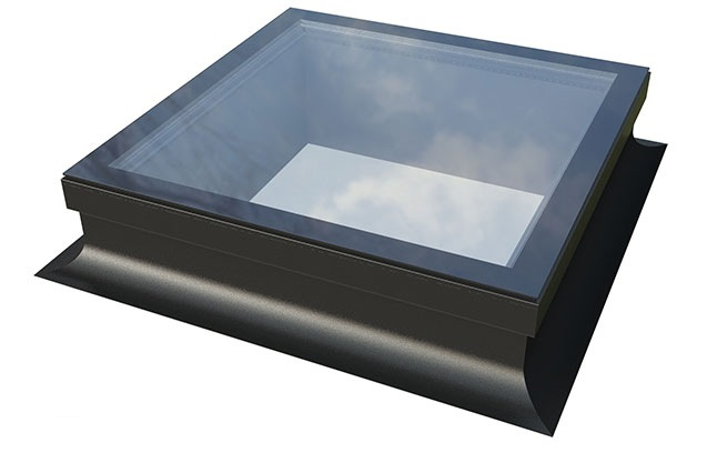Flat Skylight with Kerb