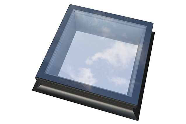 Flat Skylight Top View