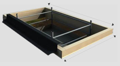 How to measure your skylight